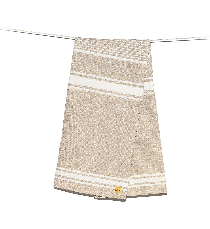 Amazon Com Harmony Idea Organic Linen 100 Flax Bath Towel Best