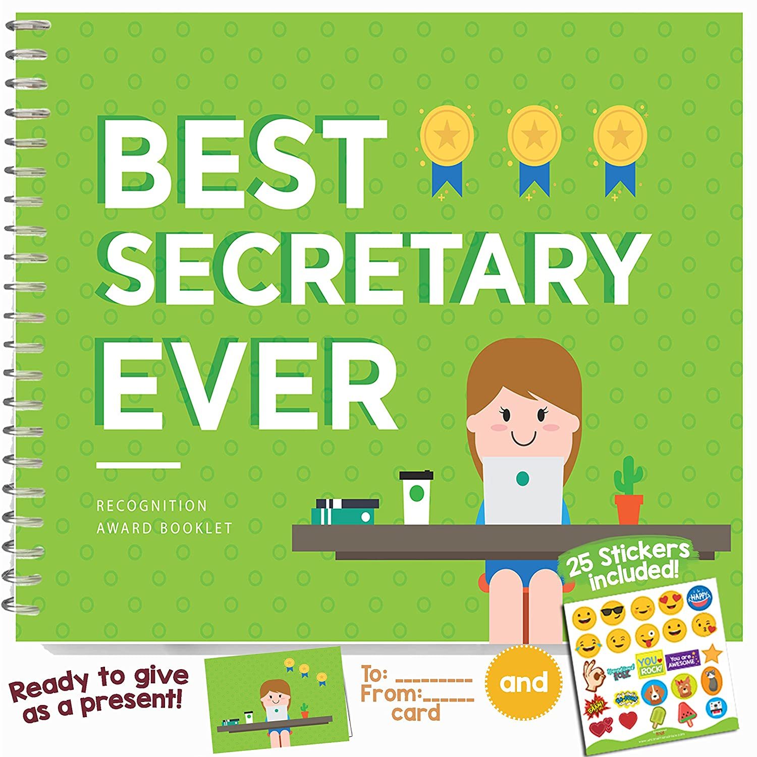 Amazon.com: Best Secretary Ever Edition - This 24-page Booklet Is ...