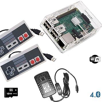 RetroBox - Raspberry Pi 3 Based Retro Game Console Emulator
