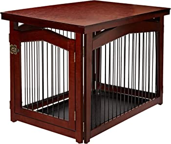 MERRY PRODUCTS Wooden Dog Cage (with removable base)