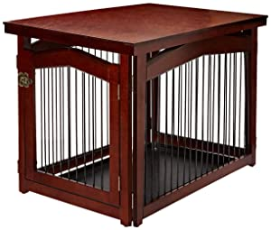 Merry Pet 2-in-1 Configurable Pet Crate and Gate, Medium