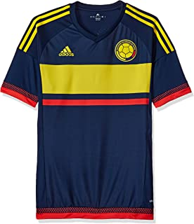 28d010c28 adidas Men s Colombia 15 16 Away Collegiate Navy Bright Yellow Bright Red