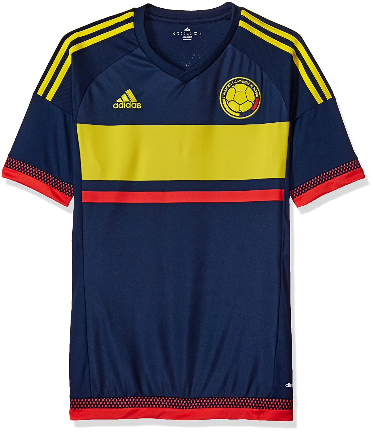 adidas Men's Columbia Replica Player Jersey S1606LHAG810
