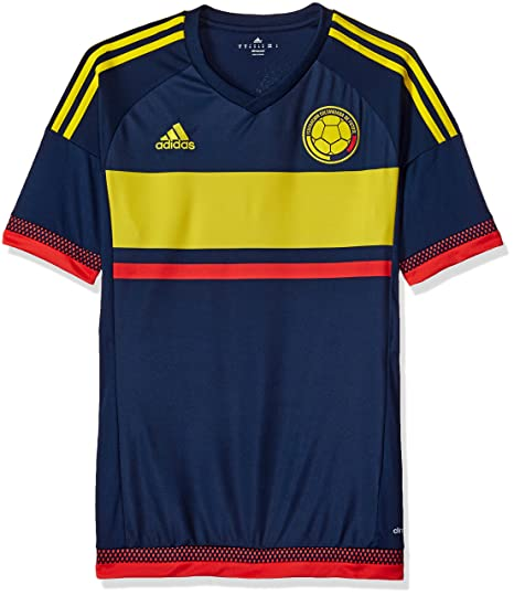 0e84a8b5b Amazon.com: adidas Men's Colombia 15/16 Away Collegiate Navy/Bright ...