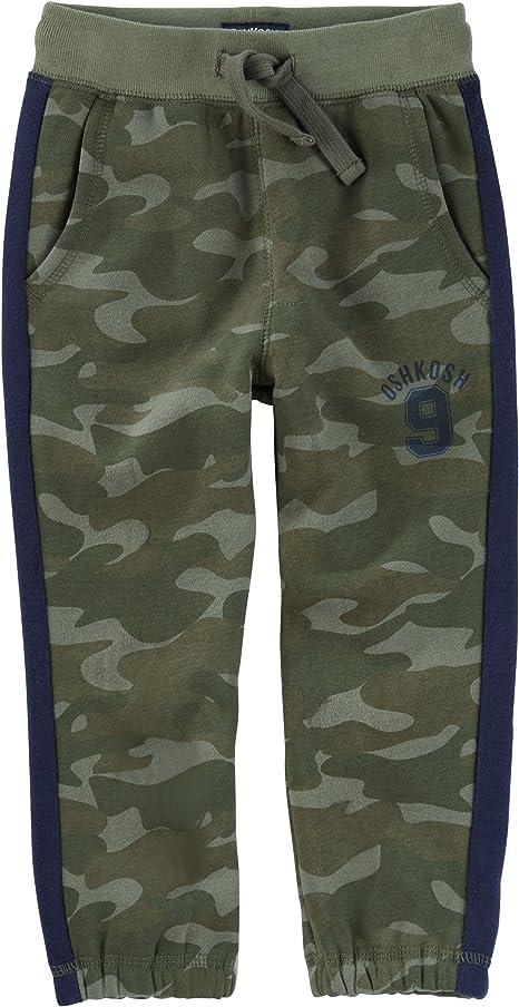 OshKosh BGosh Baby Boys Classic Fit Logo Fleece Pants