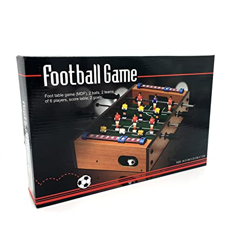 Silfrae Table Football Game Set Table Top Soccer Game for Party (Table Football Game Set  sc 1 st  Amazon.com & Amazon.com : Silfrae Table Football Game Set Table Top Soccer Game ...