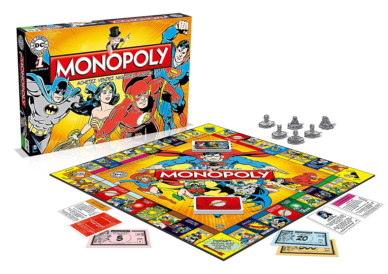 Hasbro - Monopoly DC Comics Originals édition Française - 3700126909719