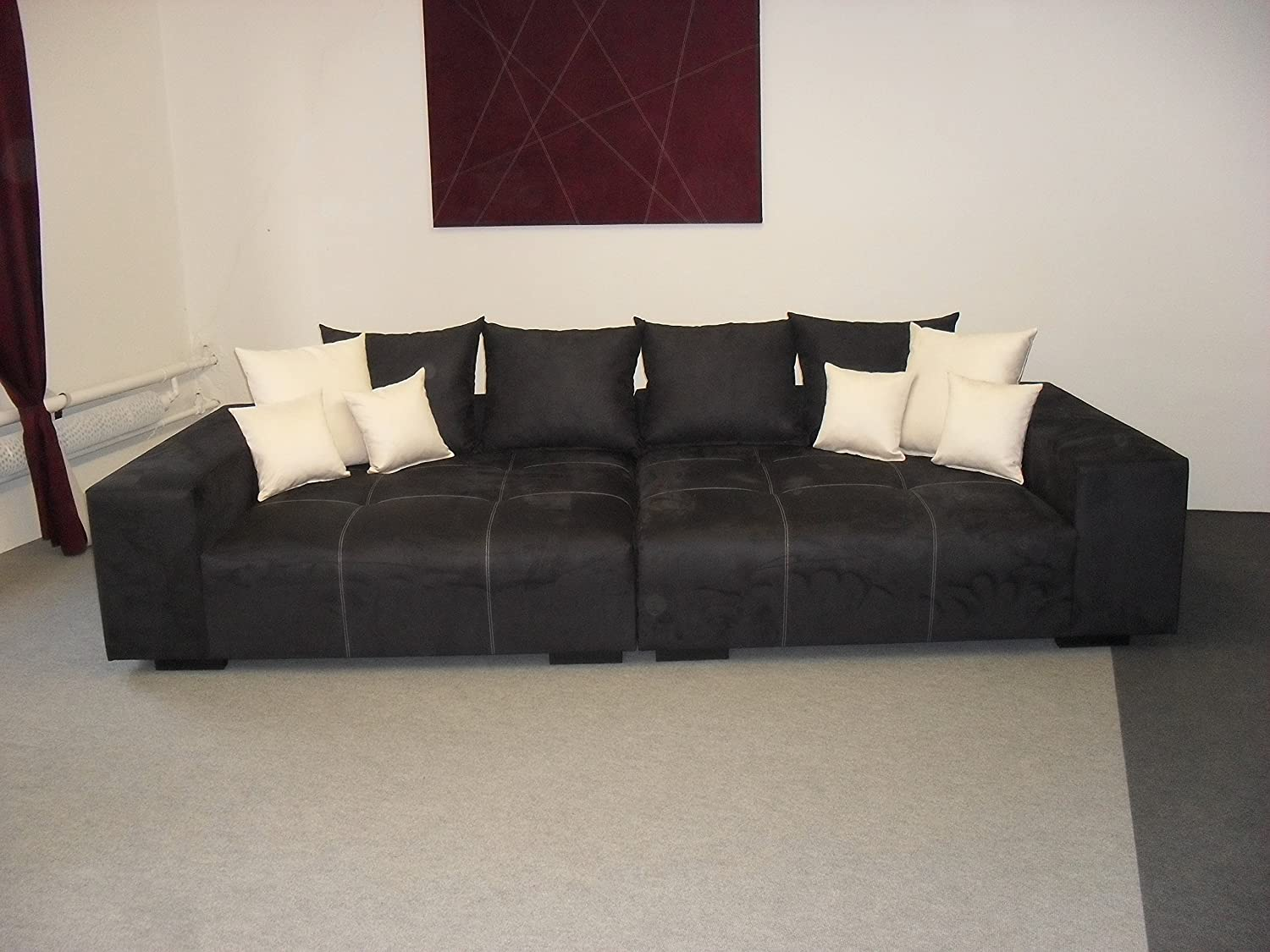 Big Sofa – Made in Germany – Bezug Noble Lux - Freie Farbwahl ohne ...
