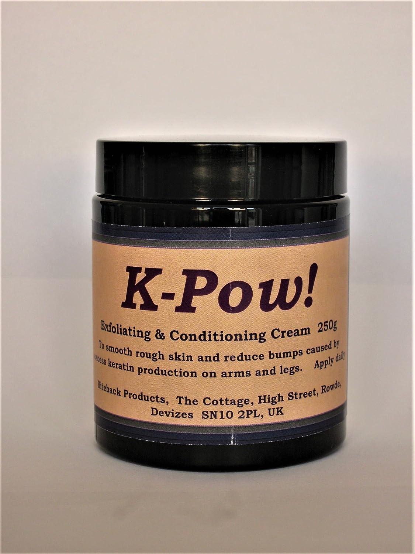 k-pow. 1-step esfoliante crema idratante per Keratosis Pilaris sintomi Biteback Products