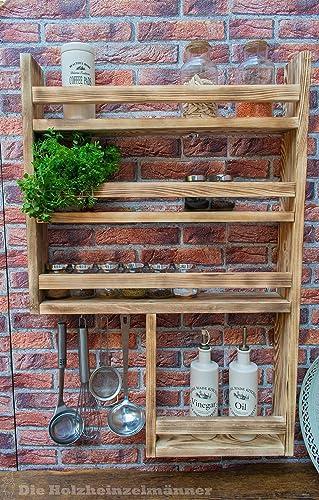 Gewurzregal Aus Holz Mit Noch Mehr Platz Hergestellt Aus