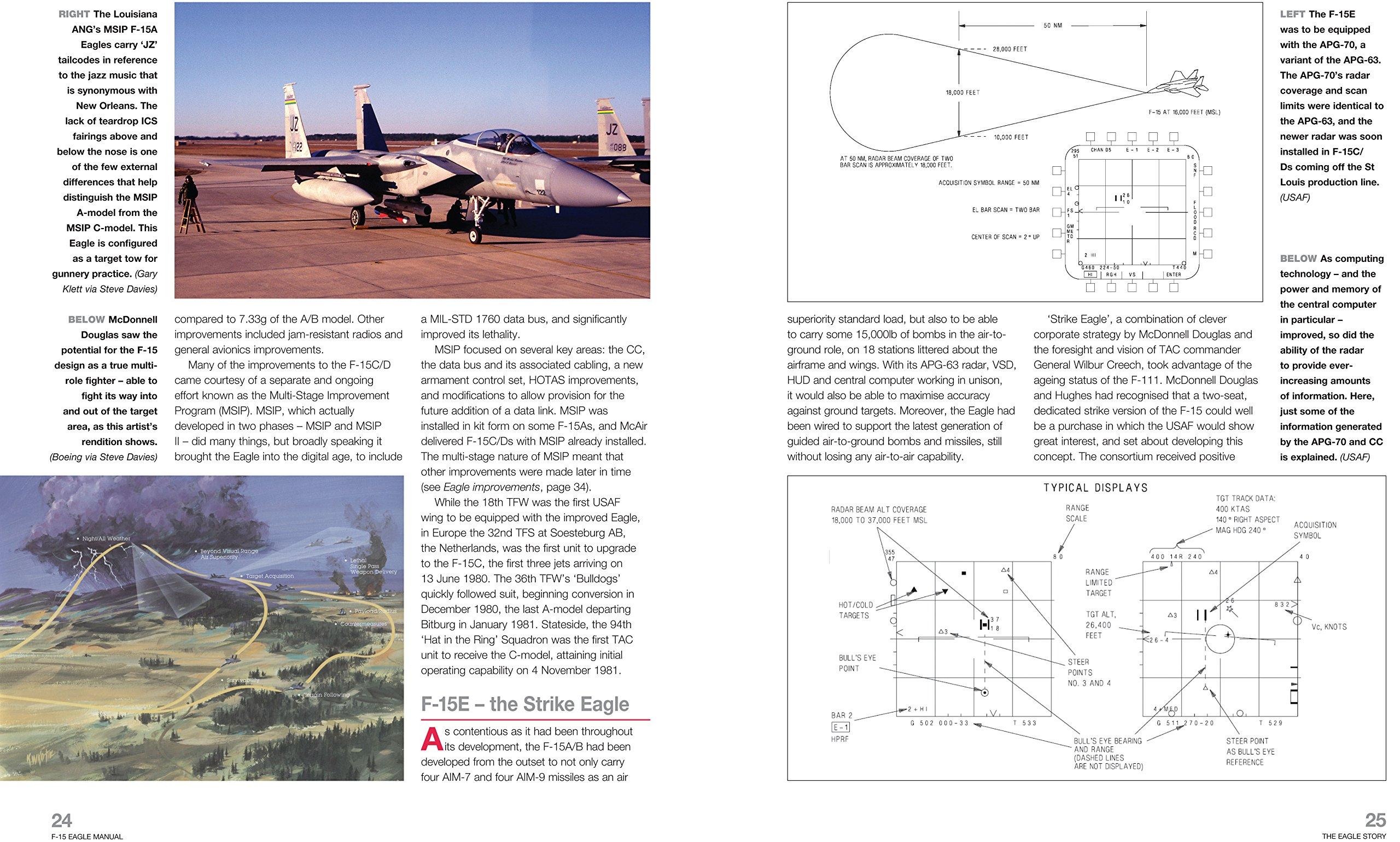 McDonnell Douglas/Boeing F-15 Eagle Manual: 1972 onwards (all marks)  (Haynes Owners Workshop Manual): Steve Davies: 9780857332431: Amazon.com:  Books