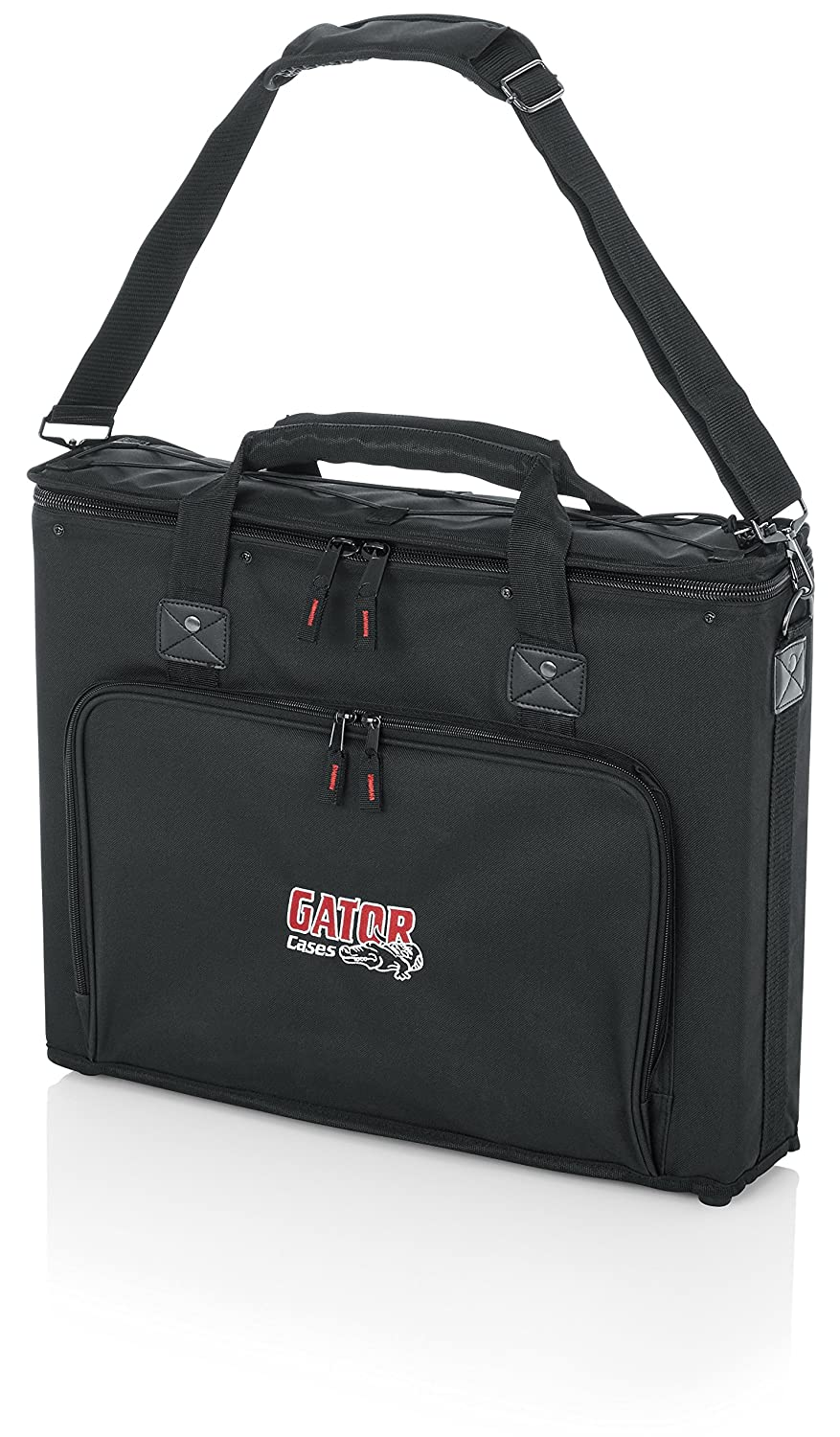 "B0002D020I Gator Cases Portable 2U Rack Bag with 14"" Rackable Depth; (GRB-2U) 91GGKq65h0L"