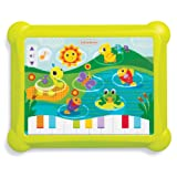 Infantino Topsy Turvy Lights and Sounds Musical Touch Pad