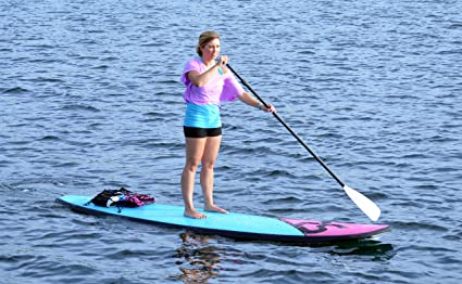 a4f2b9606 Amazon.com   RAVE Sports Flight 11  Soft Top Stand Up Paddle Board ...