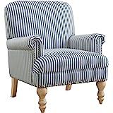 Dorel Living DA7902-BL Jaya Accent Chair, Casual, Blue