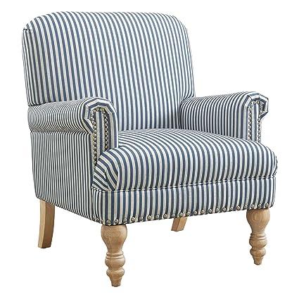 Dorel Living Jaya Accent Chair, Blue