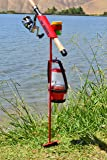 MiniFighter Fishing Rod Holder/RED