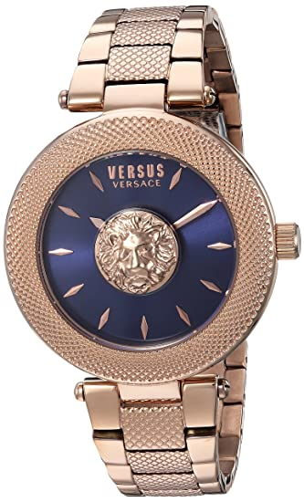 9f4495825ca2 Versus by Versace Women s  Brick Lane  Quartz Stainless Steel and Gold  Plated Casual Watch(Model  VSP212617)  Amazon.ca  Watches