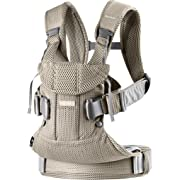 BABYBJÖRN New Baby Carrier One Air 2019 Edition, Mesh, Greige
