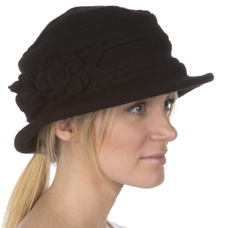 Sakkas Begonia Blossom Wool Hat 5055861816012