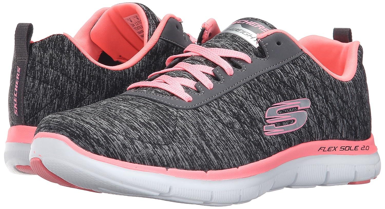 Skechers Women's Flex Appeal 2.0 Sneaker B01BHS22XG 9.5 B(M) US|Black Coral