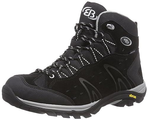 Bruetting Mount Bona High - Zapatos de senderismo de cuero hombre, color gris, talla 42