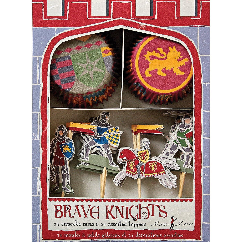 Meri Meri Brave Knights Cupcake Kit 45-0550