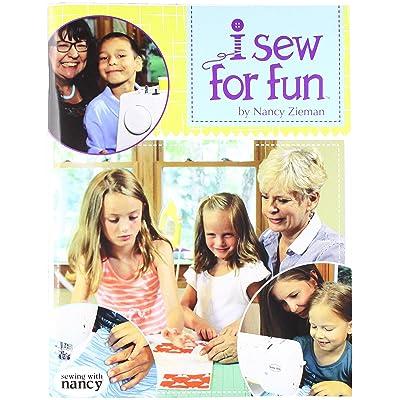 Nancy Zieman BD3115 Sew for Fun Bk, None: Arts, Crafts & Sewing [5Bkhe2006955]