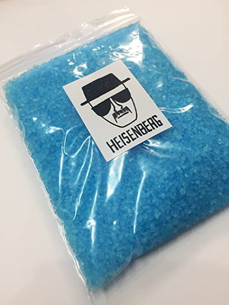 Breaking Bad Heisenberg - Sal de baño de cristal azul relajante ...