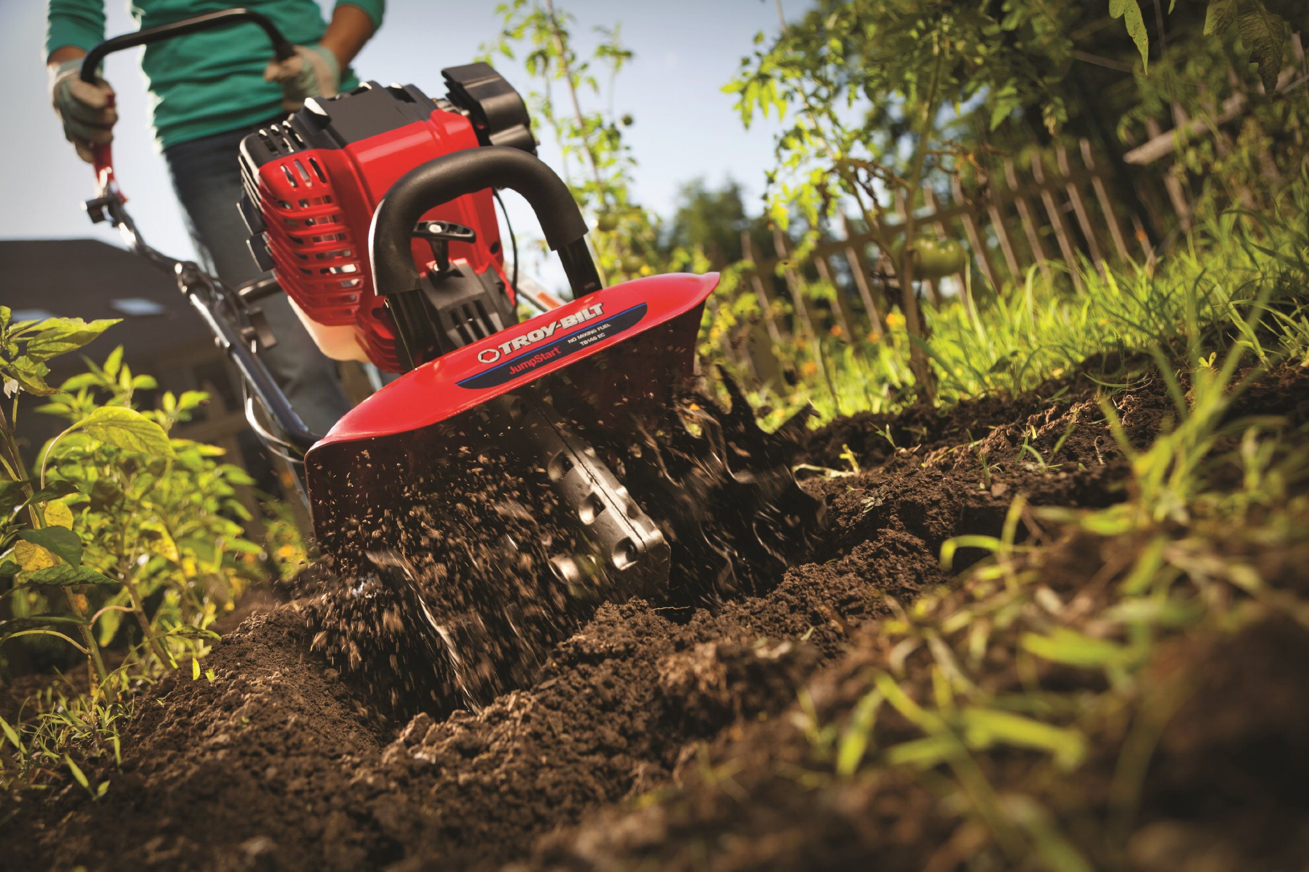 Troy-Bilt TB146 EC 29cc 4-Cycle Cultivator with JumpStart Technology by Troy-Bilt (Image #5)