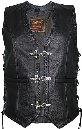 205d44a46e073 MDM - Manteau sans manche - Veste - Femme Noir Noir: Amazon.fr: Vêtements  et accessoires