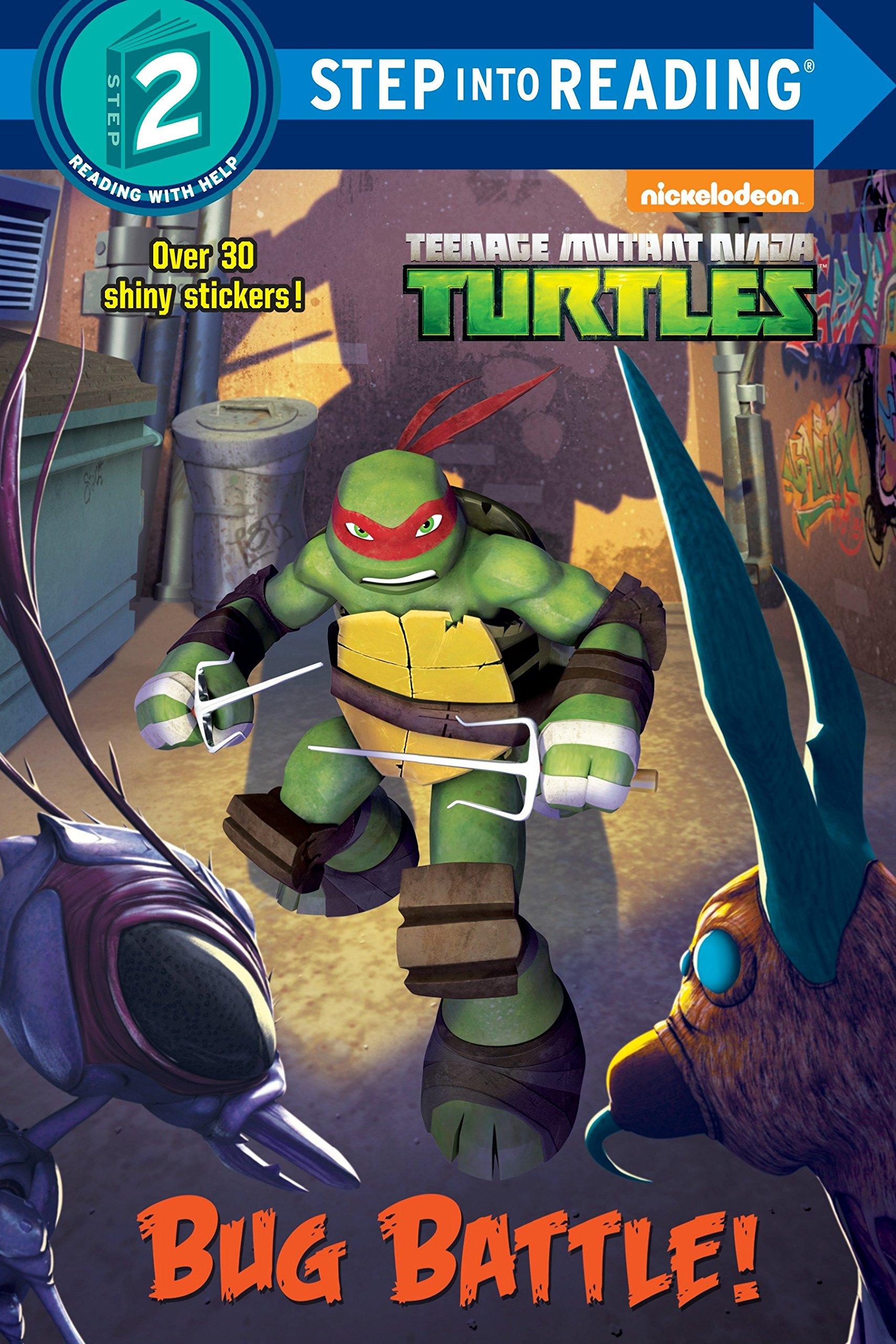 Amazon.com: Bug Battle! (Teenage Mutant Ninja Turtles) (Step ...