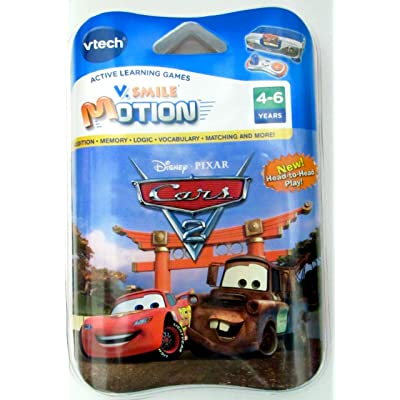 VTech Cars 2 Game for V.Smile Motion Active Learning System - For Ages 4-6: Toys & Games