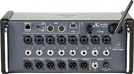 Behringer Xr16 - Mesa de mezclas: Amazon.es: Instrumentos musicales