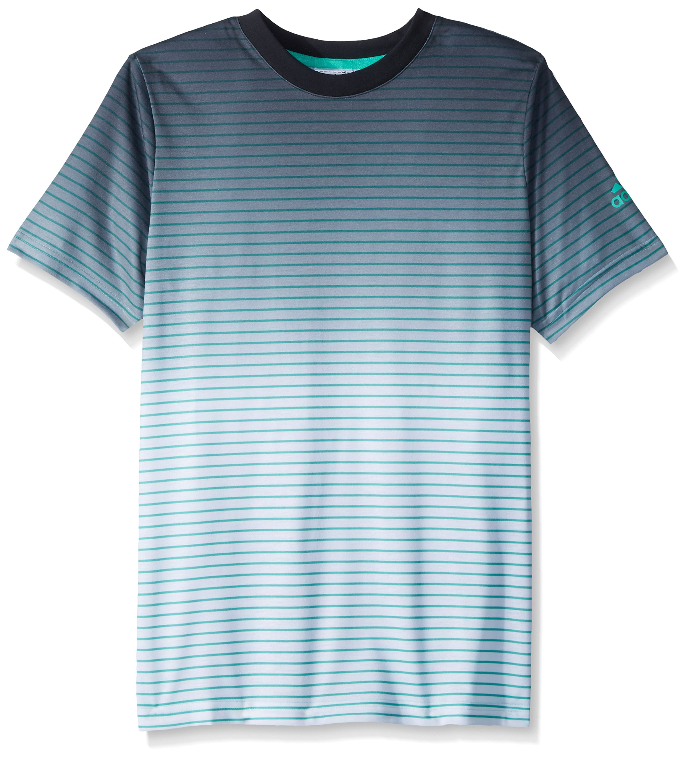 adidas Boys Tennis Melbourne Tee, Hi-Res Green, X-Large