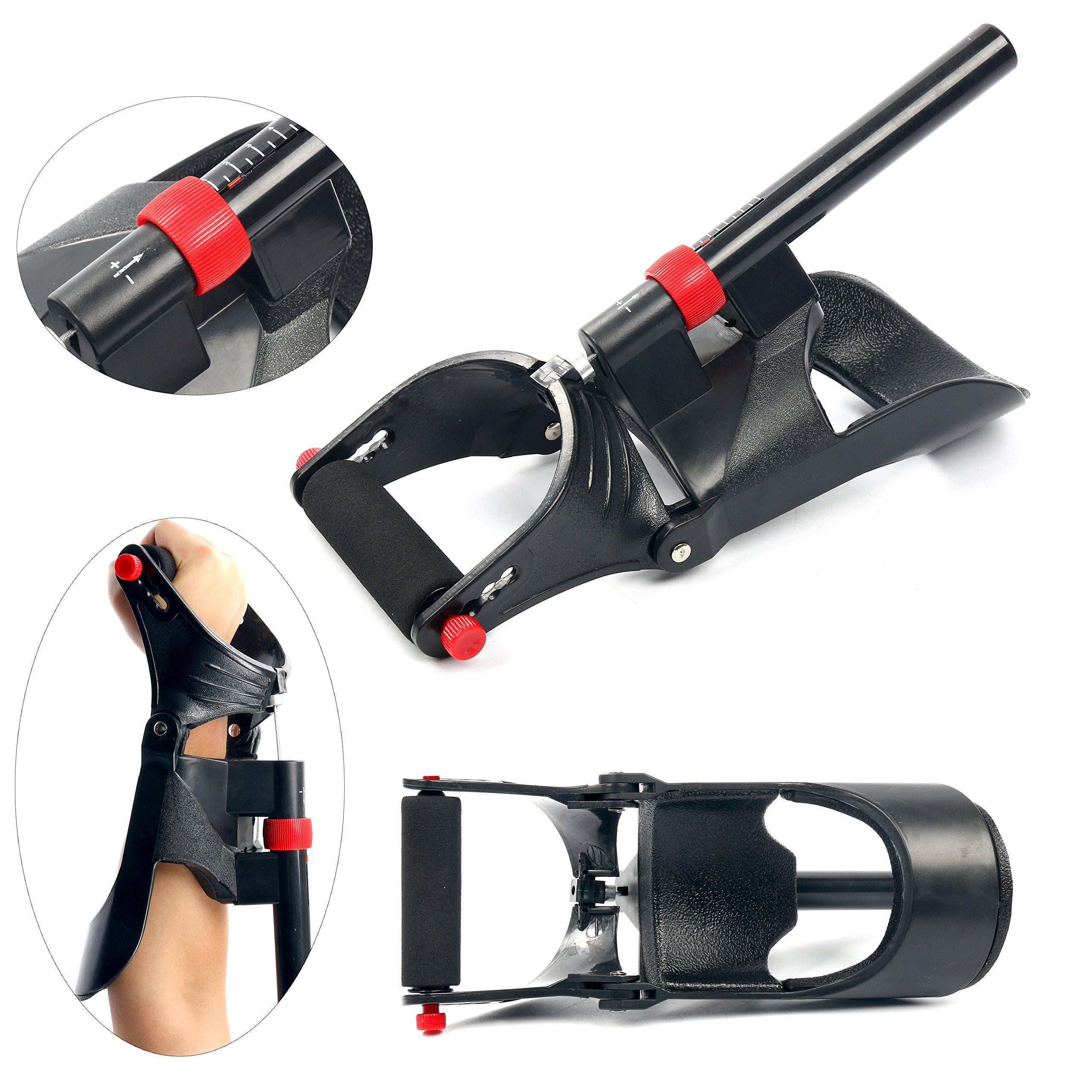YaeTek Power Forearm Wrist Strengthener Grip Exerciser Trainer - Wrist and Forearm Developer - Wrist and Strength Exerciser Forearm Strengthener Developer - Made In China ((SAME)) by YaeTek