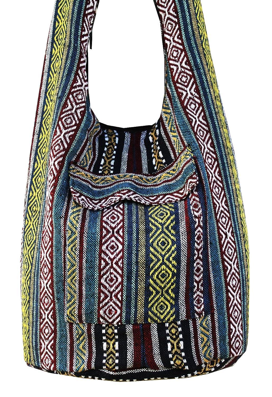 d4f6de08144d Zerstyle Handmade Crossbody Cotton Sling Asia Bag
