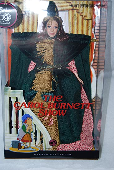 Curtains Ideas carol burnett curtain rod : Amazon.com: The Carol Burnett Show Went with the Wind! Barbie Doll ...