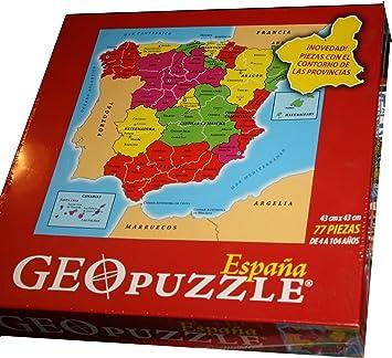 Puzzle España: Amazon.es: Juguetes y juegos