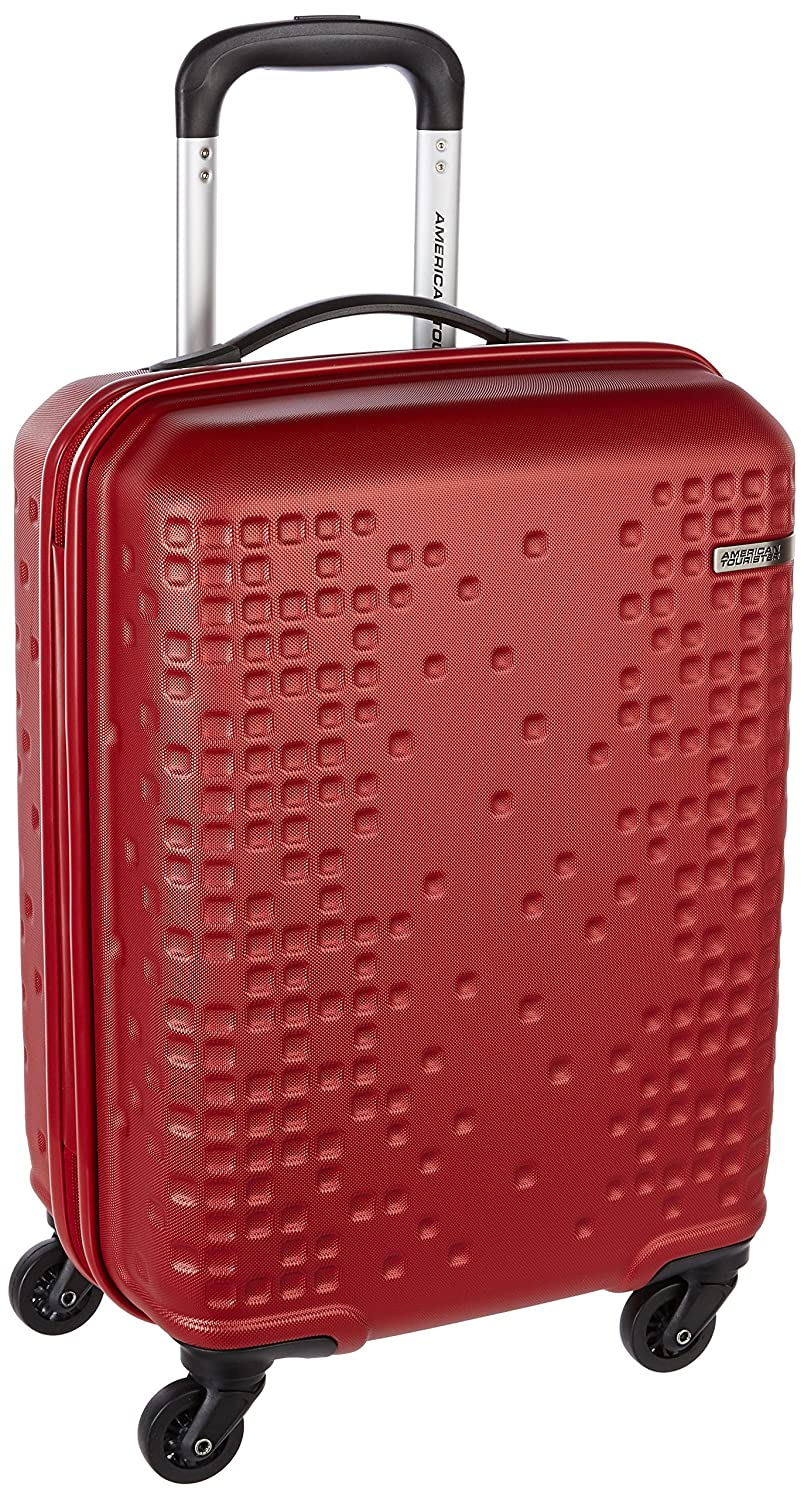 American Tourister Cruze ABS 55 Cms Red Hardsided Suitcase