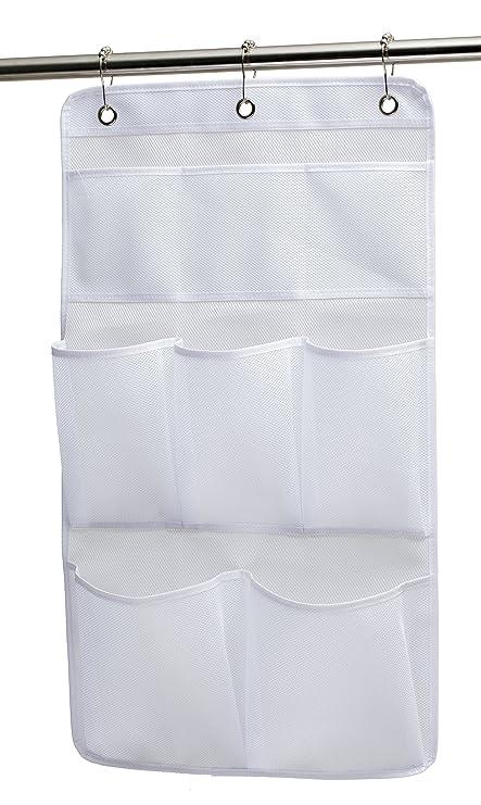 Amazon.com: KIMBORA Mesh Shower Organizer Hanging Bathroom Caddy 8 ...