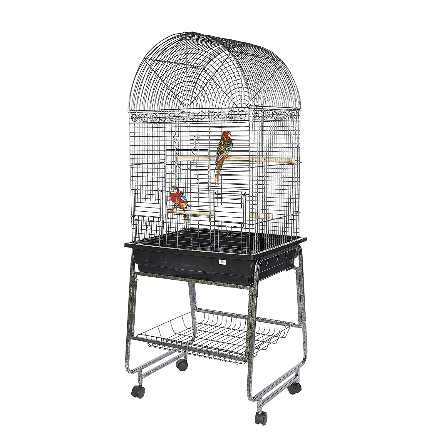 Kookaburra Cork Parred Cage and Stand for Small and Medium sized Parreds