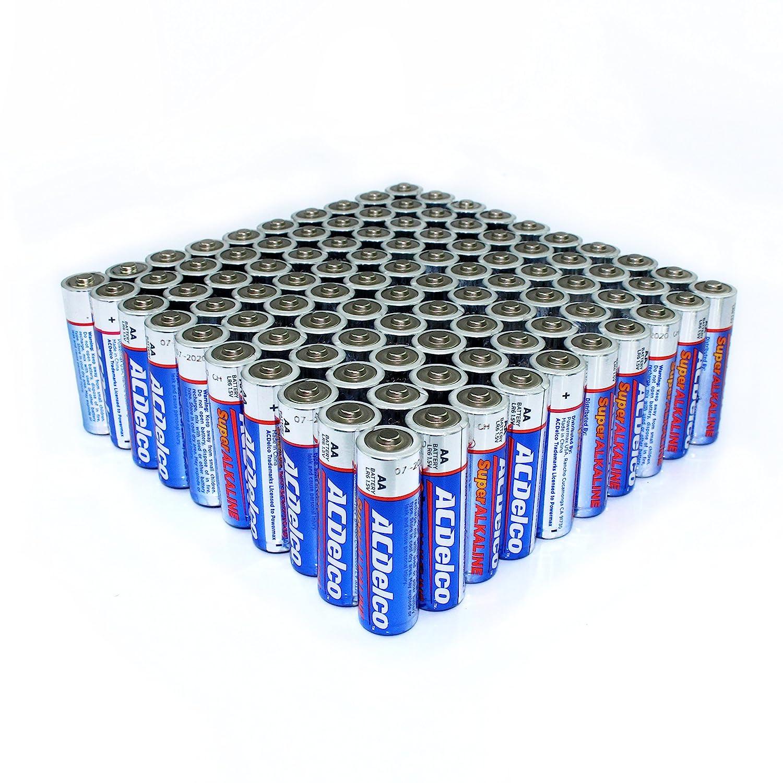 Amazoncom ACDelco Super Alkaline AA Batteries Count Health - Us zip code aa