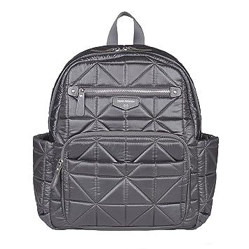 1847d1b6a4dc Amazon.com   TWELVElittle Companion Diaper Bag Backpack (Platinum)   Baby