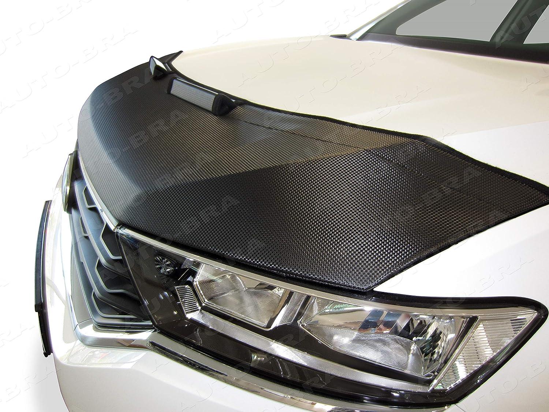 AB3-00370 FULL CARBON FIBRE LOOK HOOD BRA Front End Nose Mercedes Benz Citan W415 since 2012 Bonnet Bra STONEGUARD PROTECTOR TUNING