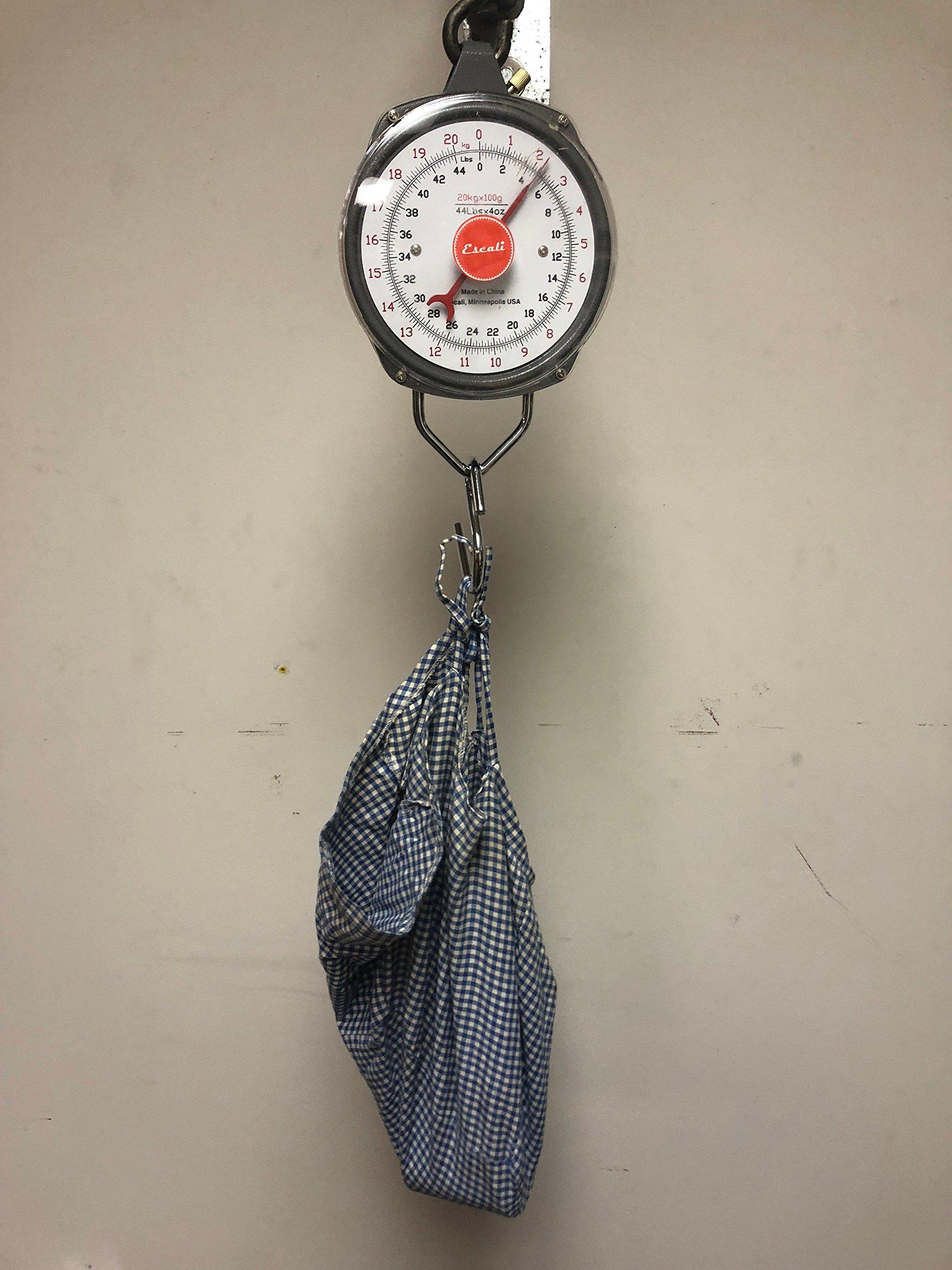 Escali, H4420, Hanging Scale, 44 lb x 4 oz