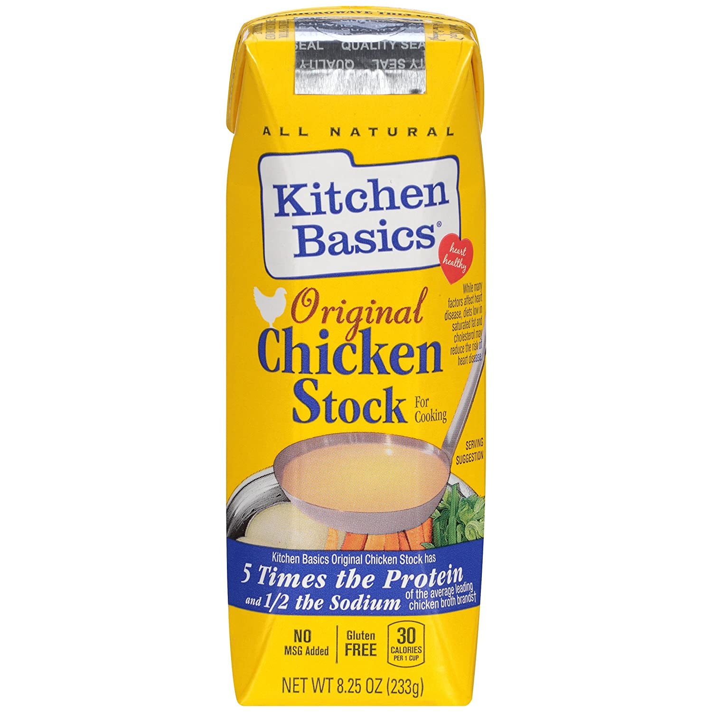 Amazon Com Kitchen Basics Original Chicken Stock 8 25 Oz Prime Pantry