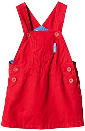 319f3e3cff Amazon.com: Toby Tiger Red Dungaree Dress: Clothing