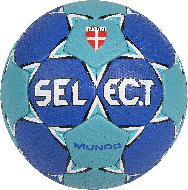SELECT Mundo - Balón de Balonmano, Color Azul Oscuro y Turquesa ...