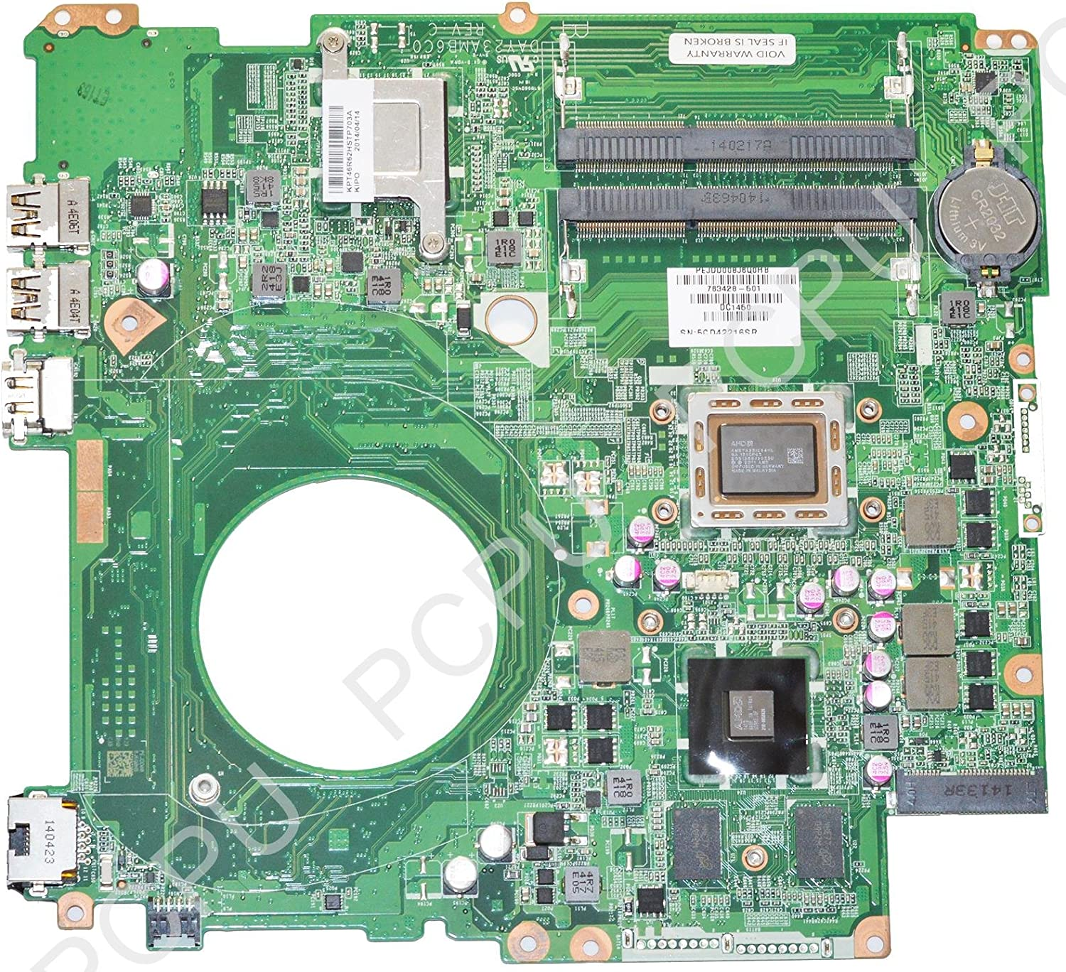 763428-501 HP Touchsmart 15-N Laptop Motherboard 260M//2GB w//AMD A10-5745M 2.1Ghz CPU